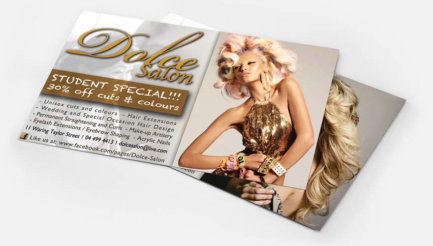 Dolce Flyer Concept Two
